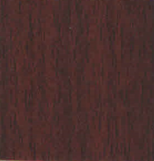 W2581 - MAHOGANY (9MM ONE SIDE LAMINATED - INTERIOR)
